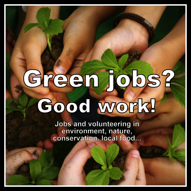 Green & environmental jobs