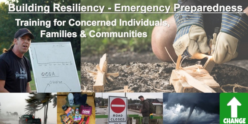 Resiliency and preparedness training